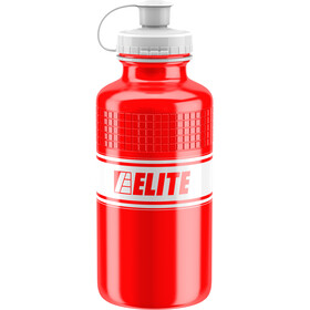 Elite Vintage Drink Bottle 500ml red/white